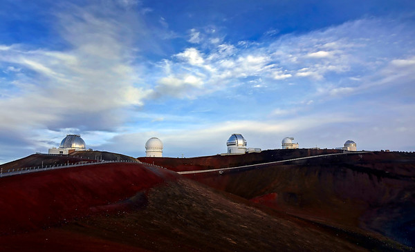 Mauna Kea Summit and Sunset