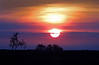 Kailua Kona Sunset : Taken 1/28/2013 on the drive from Hilo to Kona on the big island of Hawaii. The fifth and subsequent pictures in this series, show the ocean in the distance, with a slight layer of clouds.